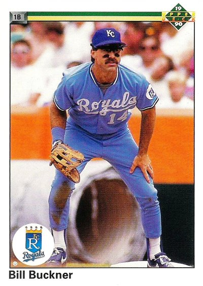 1990 Upper Deck - Bill Buckner