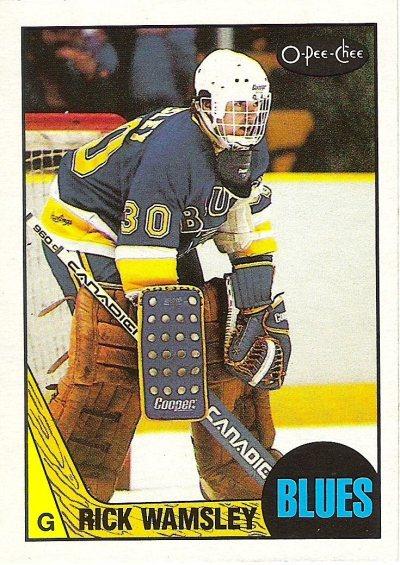 1987-88 O-Pee-Chee - Rick Wamsley