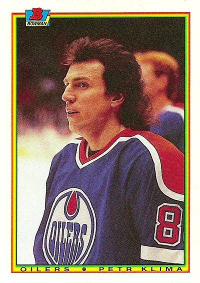 1990-91 Bowman - Petr Klima