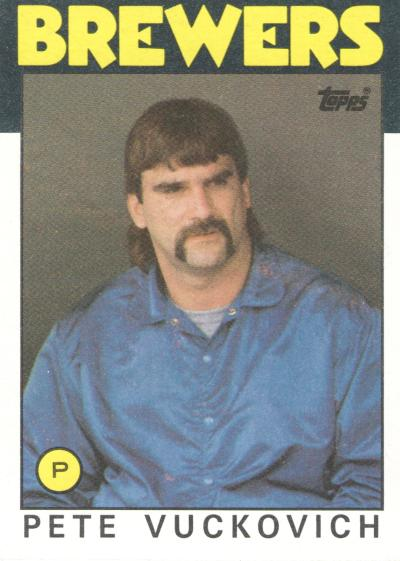 1986 Topps - Pete Vuckovich