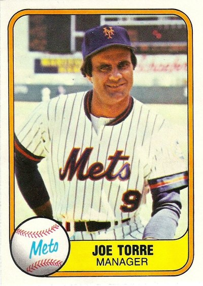 1981 Fleer - Joe Torre