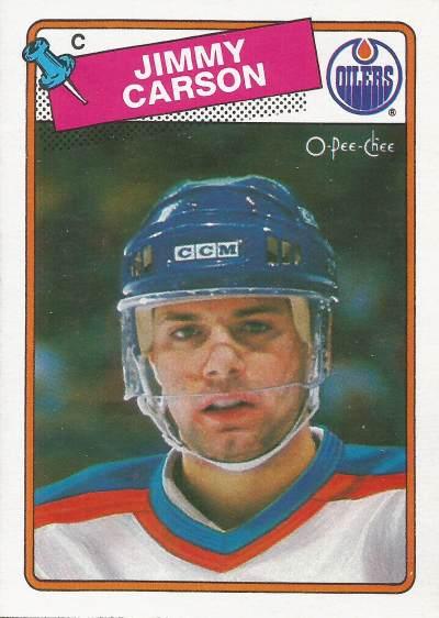 1988-89 O-Pee-Chee - Jimmy Carson