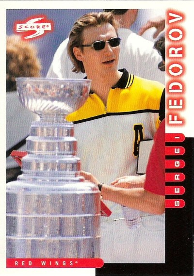 1997-98 Score - Sergei Fedorov